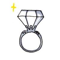 イラスト指輪